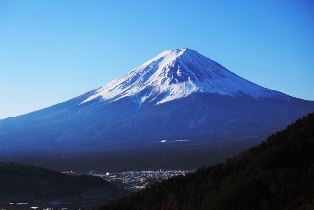 Mt. Fuji view from Misaka Pass