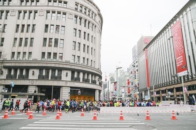 Tokyo Marathon (Ginza)