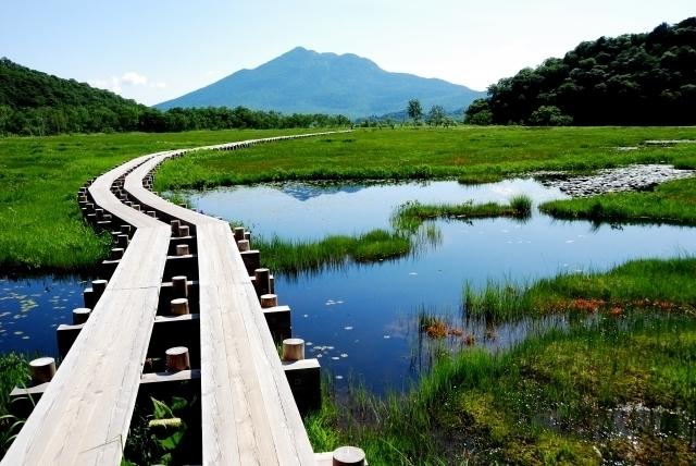 Oze-ga-hara and Mt. Hiuchi-ga-take