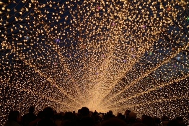 Illumination of Nabana no Sato