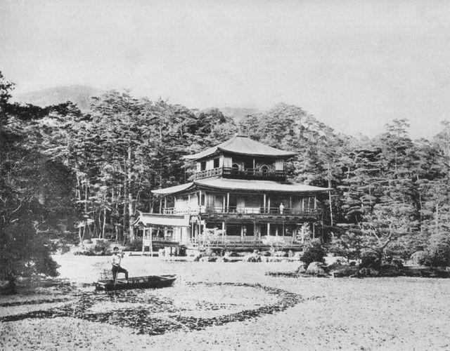 Kinkaku in 1893