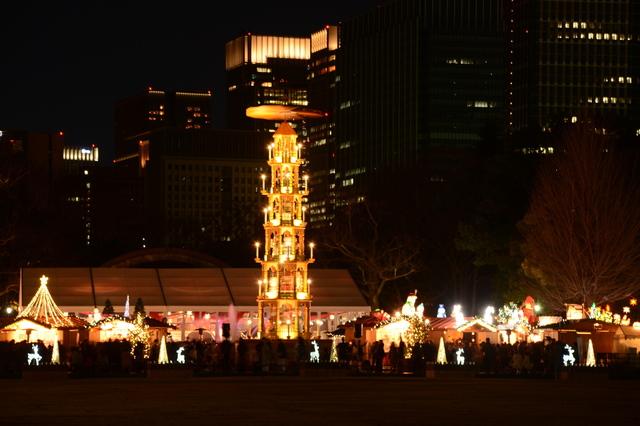 Tokyo Christmas Market 2016 at Hibiya Park