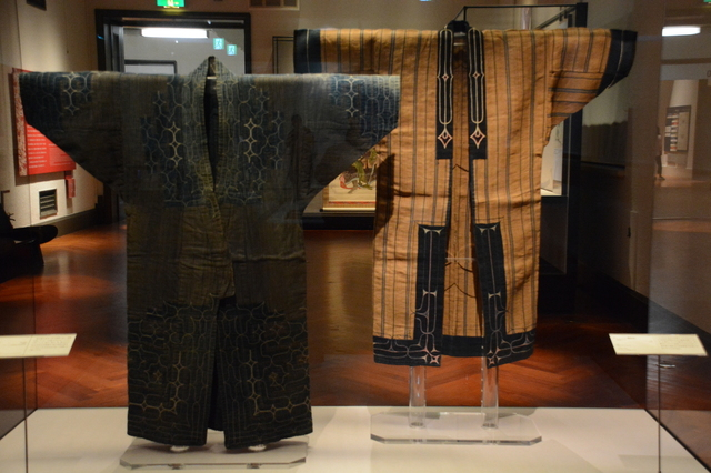 Traditional clothes of Ainu