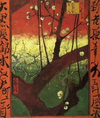Gogh; Japonaiserie: le prunier en fleurs