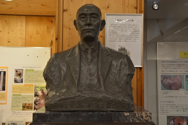 Statue of Hidesaburō Ueno