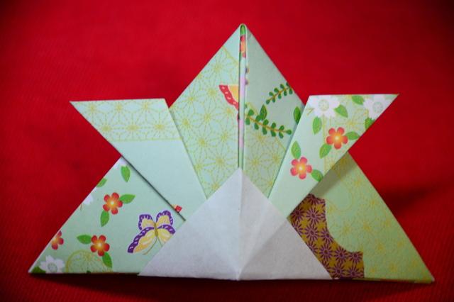 Kabuto of Origami