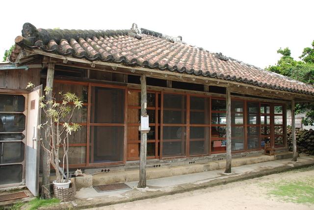 Okinawa's traditional house