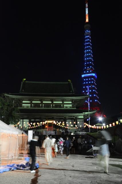Tokyo Tower and Zōjō-ji Temple