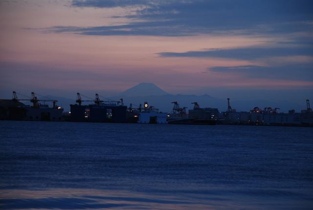 Mt. Fuji from Wakasu