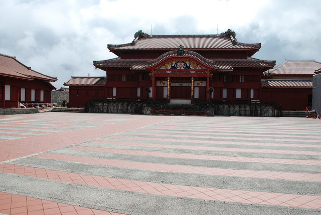 Main Hall of the Shuri Castle