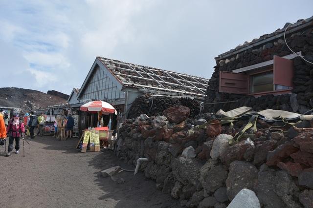 The shops at the top of Yoshida Trail, Mt. Fuji.JPG