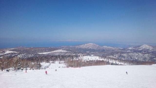 Ski course of Niseko