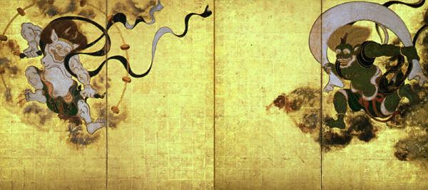 Fūjin Raijin-zu Byōbu